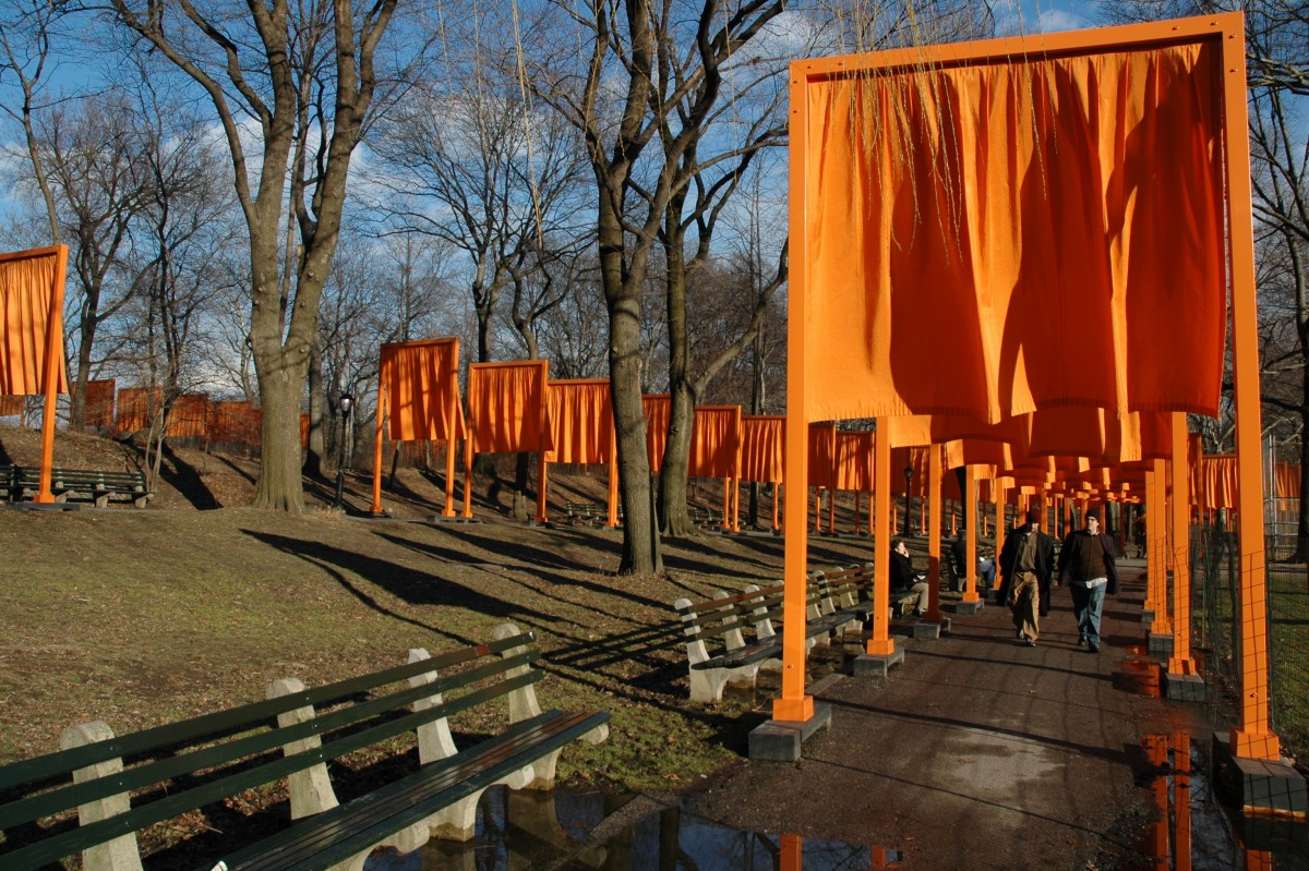 Christo and Jeanne-Claude - The Gates - Central Park NYC - 2005